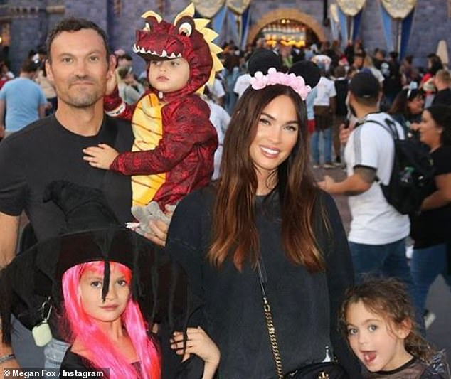 Parental spat: Fox and ex Brian Austin Green's children recently became the subject of some public drama, when she called Green out on Instagram for using their kids against her