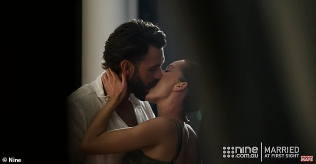 Nominated: Last month, both Ines and Sam received a nod from the AACTA Awards for Favourite TV Moment of the Decade for their steamy affair on the Channel Nine series