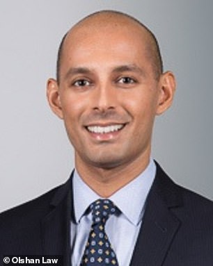 Muhammad Malik, 26, was a corporate attorney at a Manhattan law firm