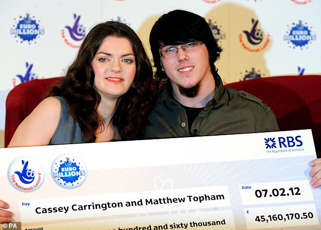 The couple won the Euromillions  jackpot eight years ago, when the then newlyweds were living in a £89,950 ex-council house in Stapleford, Nottinghamshire