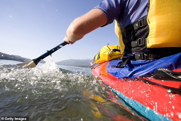 A Victorian man breached coronavirus restrictions by kayaking into South Australia without essential travel papers (stock image)