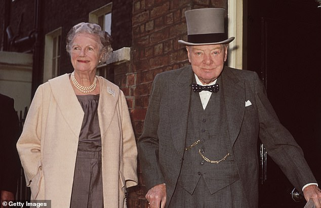 On June 4, 1944, Charles de Gaulle visited Churchill (seen here with Lady Churchill in 1961), at Droxford. Today, the station has been transformed into a four-bedroom house