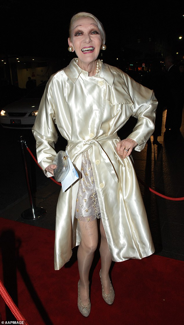 Former Gold Logie winner and Australian entertainer Jeanne Mitchell has died (pictured at the at the annual Helpmann Awards in Sydney on August 6, 2007)