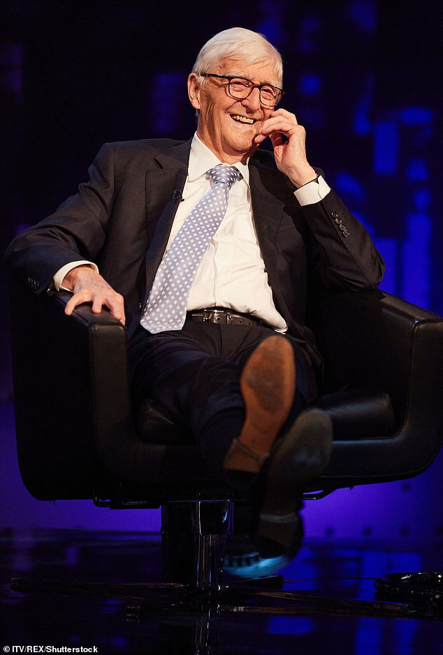 Giggles!In an interview with this week's Stellar magazine,Sir Michael Parkinson has revealed what he admires most about other men - their sense of humour. Pictured in 2019
