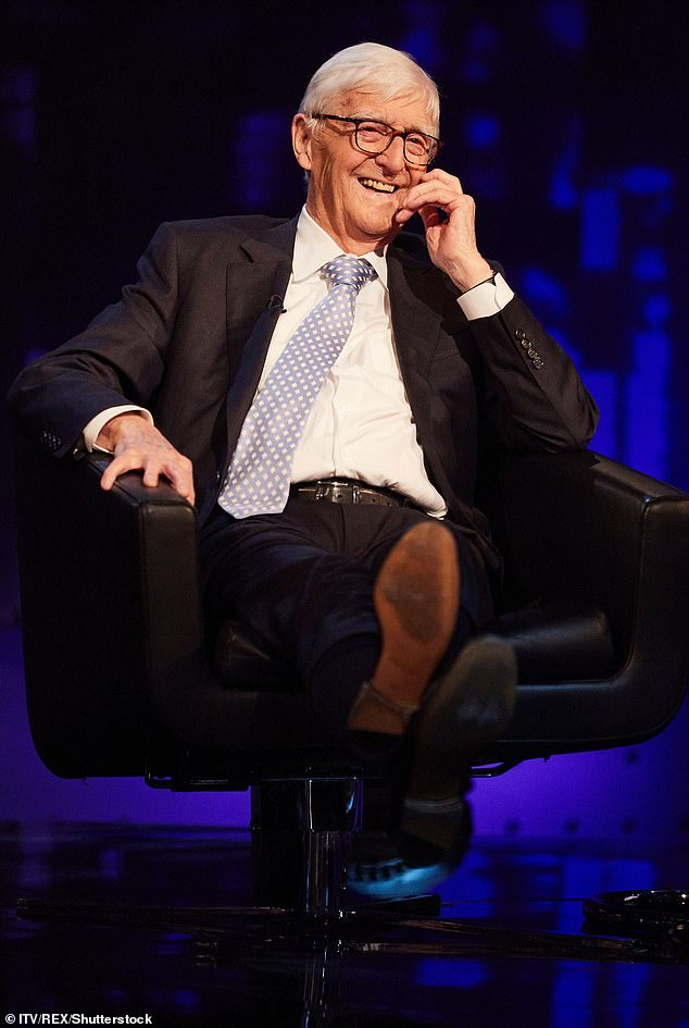 Best guests Down Under: Sir Michael Parkinson (pictured) divulged his list of favourite Australian stars in interview with Stellar Magazine this week
