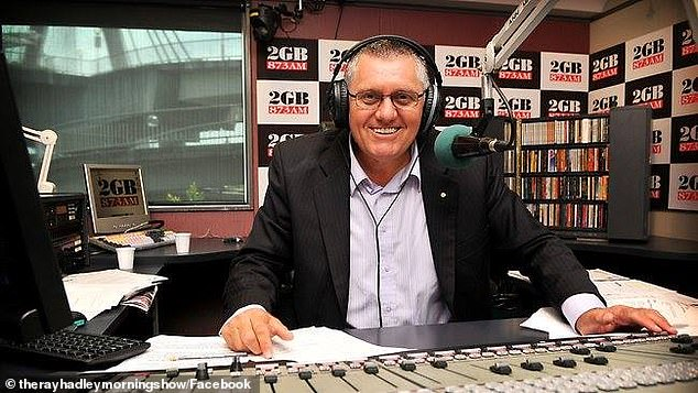Ratings surge: 2GB radio's Ray Hadley (pictured), 66, may not have taken over Alan Jones' coveted early morning breakfast gig this year, however he's now enjoying a popularity surge