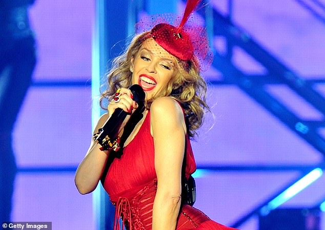 Investment opportunity:Kylie Minogue'sstake is likely to be worth more than £1million if Roxi is listed on the exchange