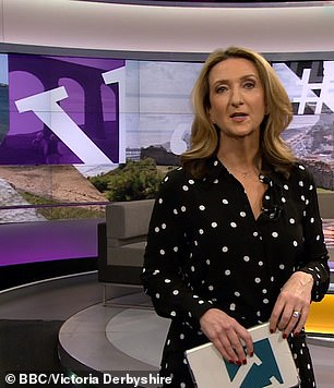 Expensive: radio host Victoria Derbyshire reportedly got £ 75,000 for her role