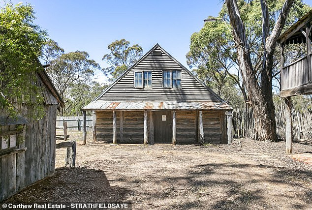 The site boasts 40 unique buildings over six hectares and is being offered for $1.75million