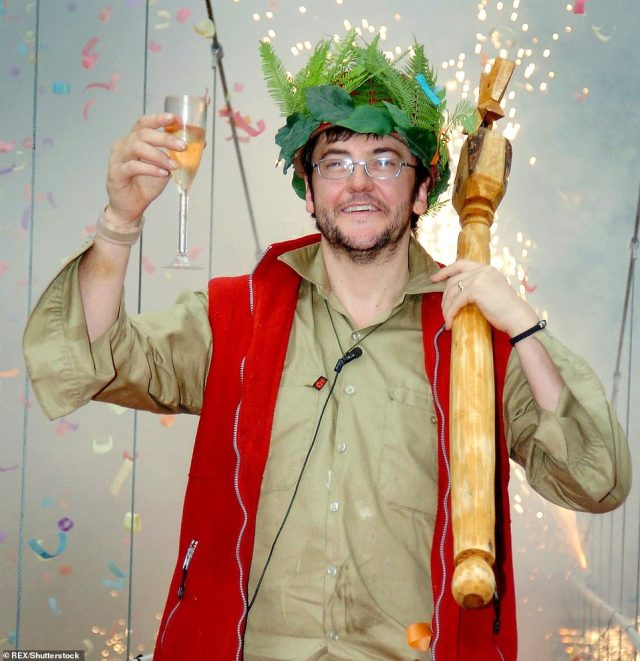 Riding high: For the first time (and only) time, I'm A Celebrity bosses opted to air two series in the same year in 2004, with JoePasquale being crowned winner of the show's second run that year