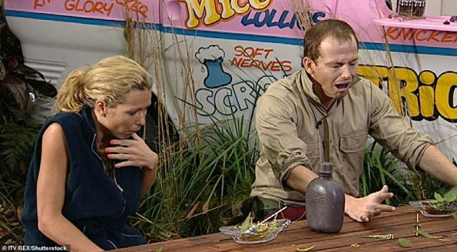 Too good: In series eight Joe Swash won over viewers early on when he faced the Ice-Scream van trial opposite Nicola McLean