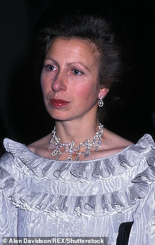 Days away!  The Crown series four will be available on Netflix from Sunday (pictured by Princess Anne in London in 1983)