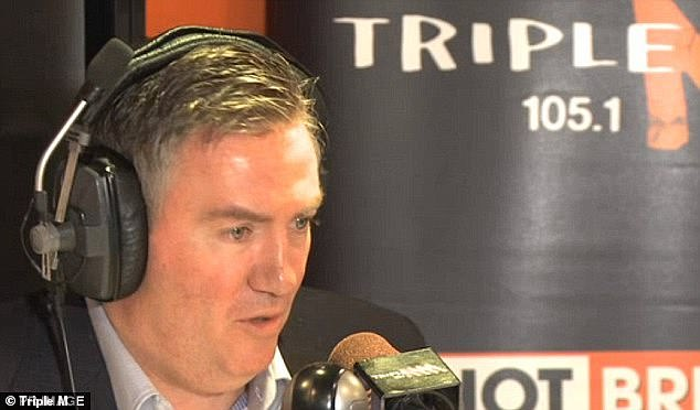 'Whilst gruelling, it has also been a true honour and pleasure': Eddie joined Triple M's Hot Breakfast in 2009 and says this year has been 'a year like no other' due to the coronavirus and 'broadcasting six hours a day and on weekends'