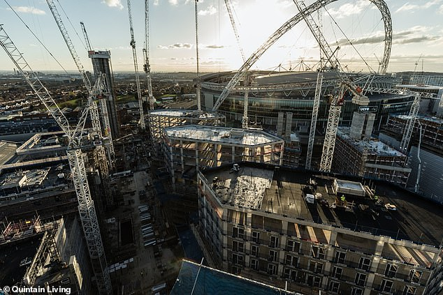 There are currently36,700 build to rent homes under construction in the UK