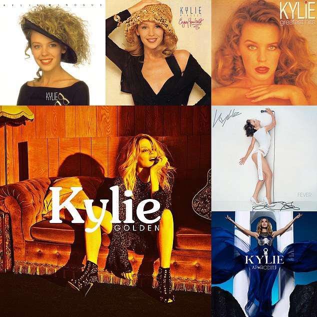 Wow!  Kylie will be the first and only female artist to score No.1 albums every decade since the '80s if she reaches number one this Friday when the charts are announced.