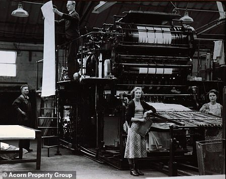 The Butler, Tanner and Dennis printworks (pictured), which operated for 165 years