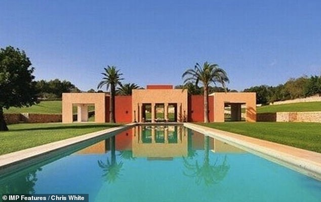 Court case: Boris' outing comes after it was reported he had 'handed back the keys' to a £9million luxury villa and estate in Majorca as part of his bankruptcy proceedings