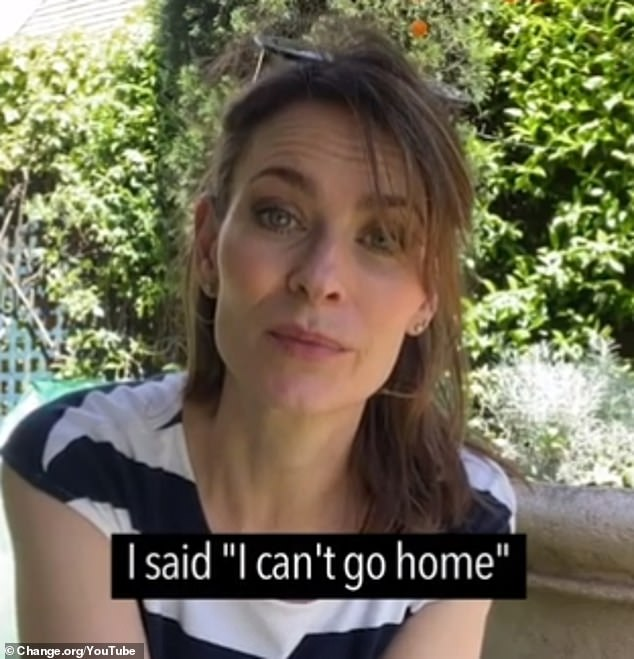 Campaign: Offspring actress Kat Stewart (pictured), The Project's Susie Youssef and Crazy Rich Asians star Remy Hii have joined forces to free a gay refugee being detained in Australia