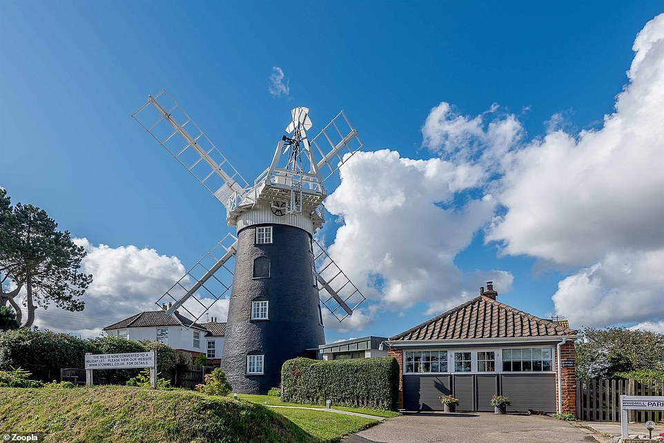 The mill is run as a holiday let, with the potential to produce turnover of up to £70,000 a year