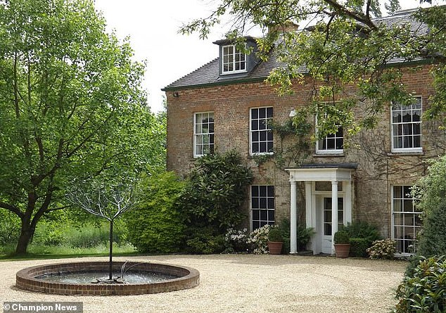 Now worth around £3m, the estate comprises a nine-bedroom, seven-bathroom house with five reception rooms, 19 acres of paddock and pasture, and seven acres of ornamental gardens which open to visitors several times a year through the National Garden Scheme