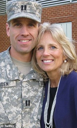 Jill Biden and Prince Harry both have strong ties to the armed forces; Jill's late stepson Beau was a major in the US Military