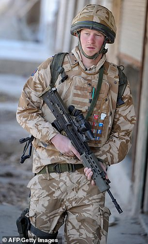 Jill Biden and Prince Harry both have strong ties to the armed forces; Harry spent 10 years serving in the British Army