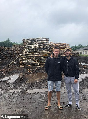 Jonathan Baylis went from owning a travel business to selling logs