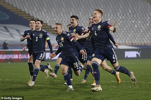Scotland have qualified for the European Championship next summer with a play-off victory over Serbia