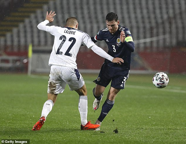 Robertson's Scotland to face England, Croatia and Czech Republic in the group stage