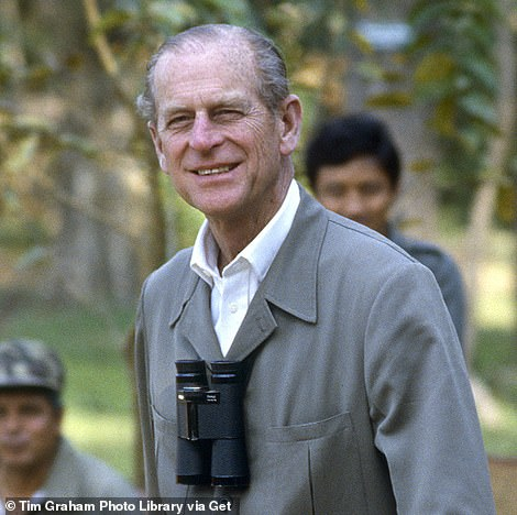 At odds: It will come at a time when the Royal Family grows increasingly divided behind closed doors (Phillip pictured in 1986)