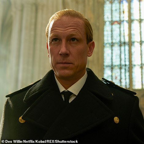 Royal man: Tobias Menzies will once again play The Duke Of Edinburgh Prince Phillip