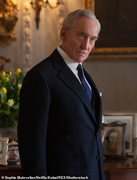 Sad news: A respected war veteran, Lord Mountbatten's assassination in 1979 stunned the Royal Family (pictured played by Charles Dance)