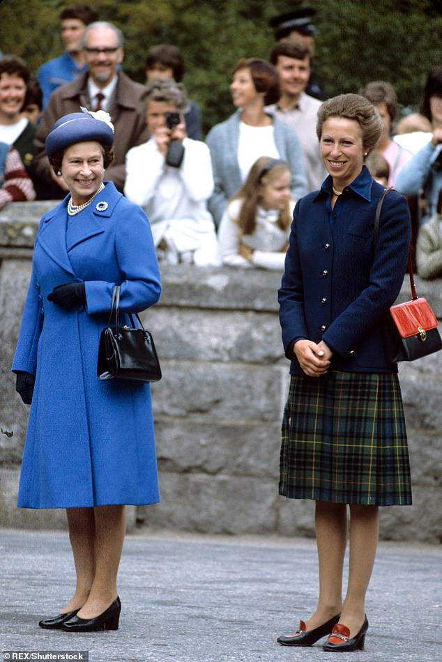 The fourth season of The Crown, which hits screens tomorrow, is pivotal in its dramatization of the Queen's parenthood of her daughter (pictured together in August 1983)
