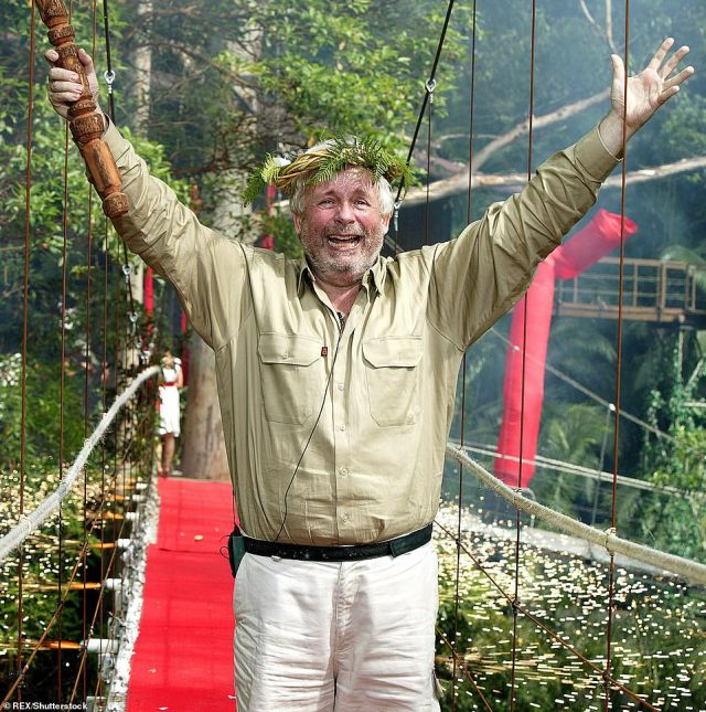 Riding high: Series seven saw late entryChristopher Biggins become a standout star, leading to him being crowned King of the Jungle in 2007