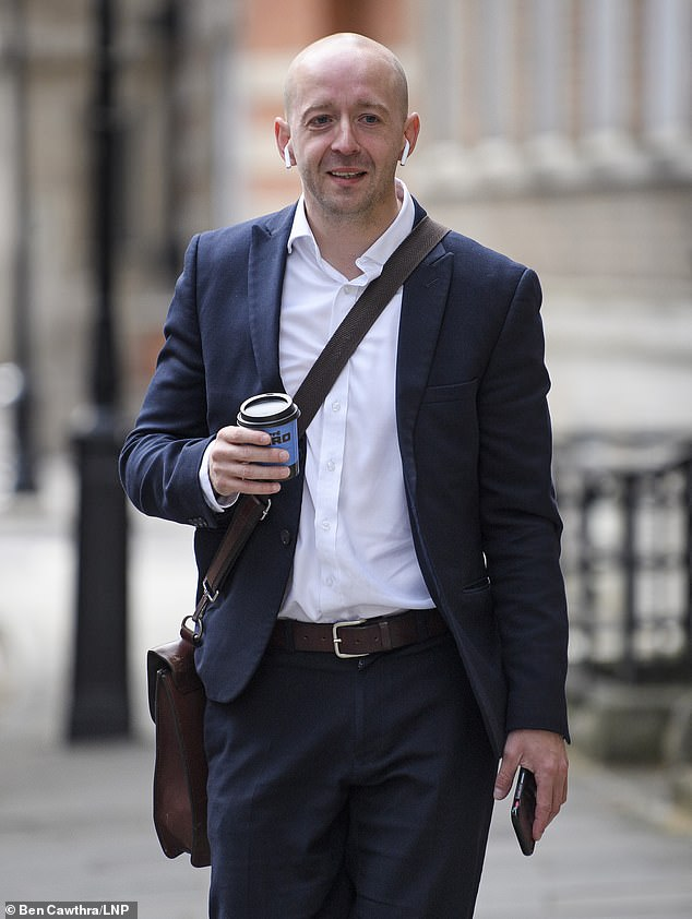 After Mr Cain (pictured) offered to resign over Ms Stratton's demands for independent access to the Prime Minister, Mr Johnson discussed moving him to a new chief of staff position – only for Ms Symonds to play a pivotal role in a party uprising against the plan