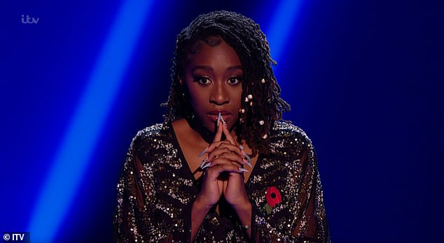 Shocked: After the show came to a close, Blessing reflected on her impressive win and described it as her 'biggest achievement yet'