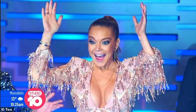 Lindsay Lohan is returning to The Masked Singer Australia as a judge in 2021