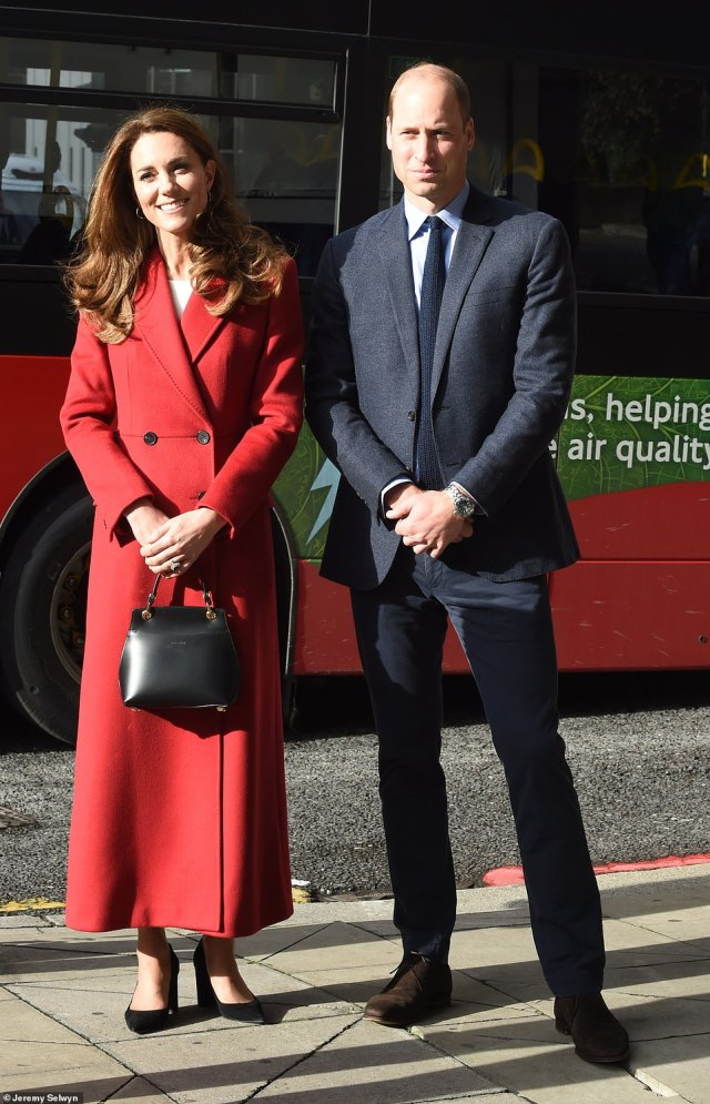 The Duchess of Cambridge launched the Hold Still community exhibition at Waterloo Station with Prince William in London last month