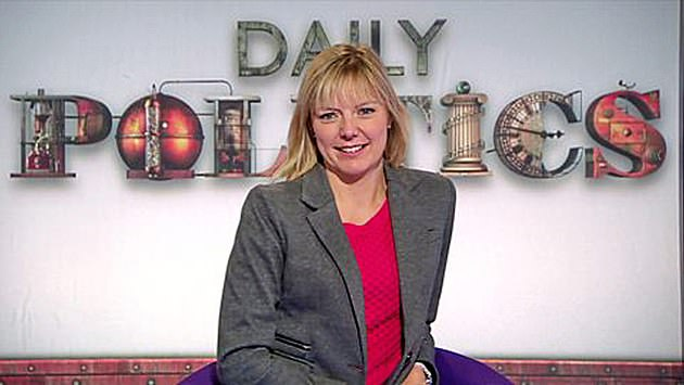 The results were used by Mr Cain to press the case for Ms Stratton's closest rival for the job, BBC political journalist Ellie Price (pictured)