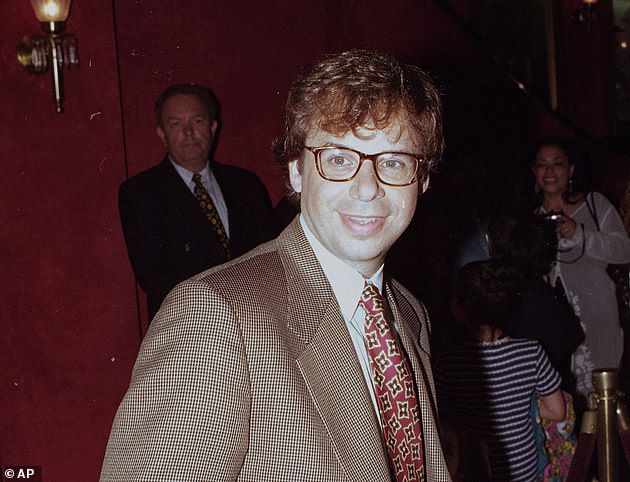 The premise of the sequel Shrunk concerns Moranis's character's now-grown son accidentally shrinking his own children. Pictured: Moranis in May 1994