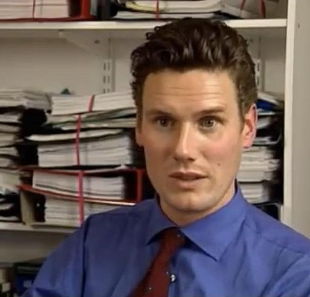 SOUL MAN: A young Keir Starmer. Herecalls in a candid interview today on Desert Island Discs how, at the age of 13, he had the harrowing task of telling his siblings that their seriously ill mother might die