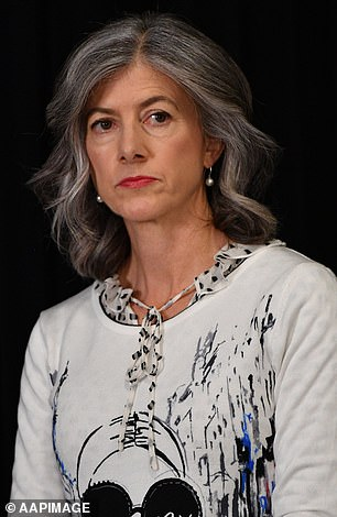 Professor Nicola Spurrier, South Australia's Chief Public Health Officer, pictured in May