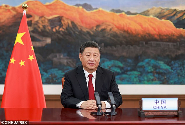 The deal is a boon for China's president Xi Jingping (pictured last week) as it helps to solidify his Belt and Road initiative for economic dominance