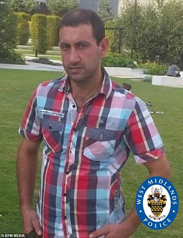 Gul Daad Khan, 36, (pictured) died after falling into a recycling baling machine which had many safety features disabled, an inquest heard