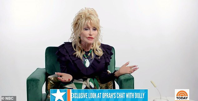 Sacrifices? Dolly Parton has spoken about her decision not to have children - and how she believes this contributed to her success