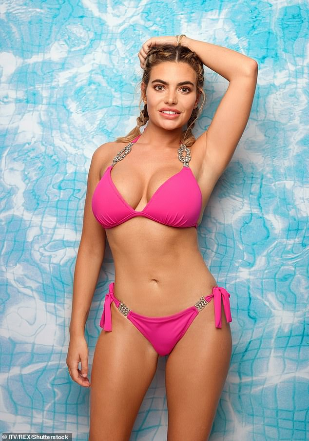 Changes: The media personality has spent a reported £25,000 transforming her looks (pictured during her stint on 2018's Love Island)