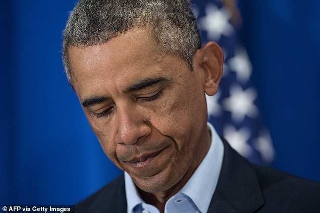 US President Barack Obama makes a statement at Martha's Vineyard, Massachusetts, on August 20, 2014, as the US carried out airstrikes against Islamic State militants in Iraq