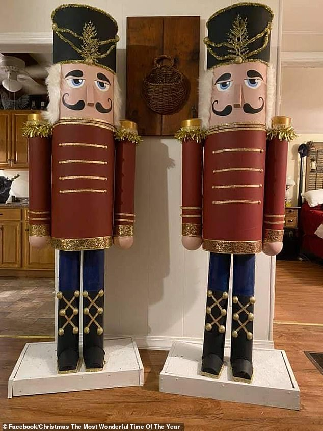 US-based set designer and prop maker Julianna Miller shared a step-by-step guide to help people create these incredible Nutcracker Christmas decorations