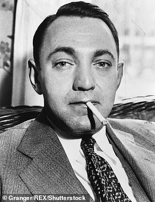 A new documentary is set to reveal the journey of treasure hunters who are racing to find the buried loot of New York City gangster, Dutch Schultz (pictured), who is believed to have buried a $150M fortune