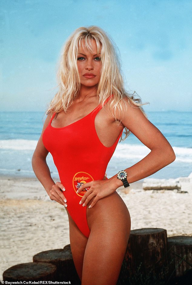 The survey also suggested that vegans have a better time in the bedroom. Pictured, PETA advocate and committed vegan Pamela Anderson